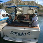 Dorado V 28' fishing boat