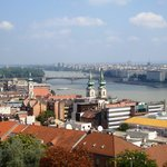 View of the Danube from the bastion