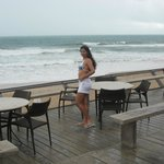 Bar de frente para a praia