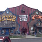 Food was excellent and the show was very entertaining and kept me laughing. Will definitely reco