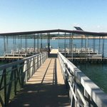 Courtesy dock near Dewey Short visitor's center