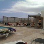 Pool area Confortel ,Barcelona.