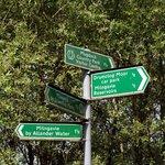 indicazioni sul sentiero
