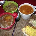 Three Irish stews
