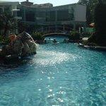 scorcio della piscina