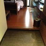 Raised wooden floor (must beware)
