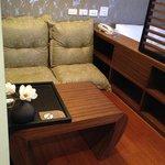 Sitting area..