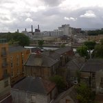 View from our room of the Guinness brewery