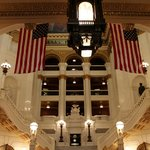 intérieur du Capitole de Harrisburg