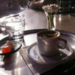 One the best Turkish coffees we've tasted in Istanbul