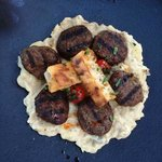 A twist on a traditional dish: kofte