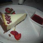 Amazing cheesecake!