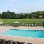 Pool view at the Inn at Hershey Farm