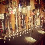 20 tap lines of American craft brew