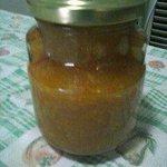 Mermelada de naranja roja