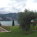 panoramic of pool area