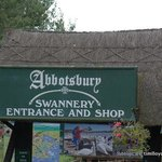 Entrance to the Swannery