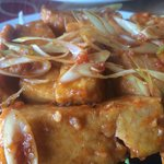 Tofu in butter and Lemongrass