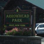 Arrowhead Park sign