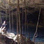 Cenote donde se efectúa ceremonia