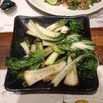 Wok Fried Pak Choi with garlic