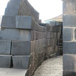 curved Inka wall