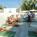 kazanılan dostluklar - yoga da :)