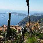View from Eze Garden