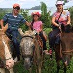 Horse back riding around Manuel Antonio