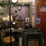 Reconstructed DJ Dewey Phillips' booth