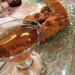 Vin Santo mit Cantuccini
