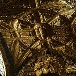 Fragmento del Techo de la Iglesia de Santa Clara en Oporto