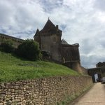 chemin vers le chateau
