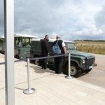 land rover transport