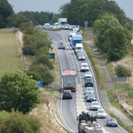 one of the frequent traffic jams on A303
