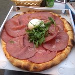 Mont Blanc pizza! I still have dreams about it