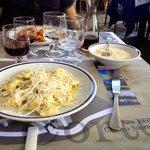 Ravioli al formaggio di Fossa e al ragù