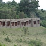 Apartments overlooking the Masai Mara