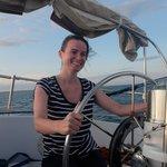 """Enjoying """"sailing"""" :)"""