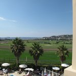 View from hotel Villa Massala