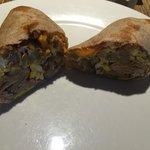 Breakfast burrito at Loaded Joe's in Avon, CO