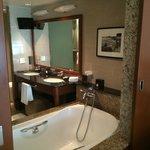 Bathroom view from bedroom