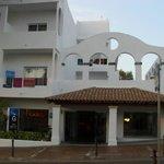 Facade hôtel
