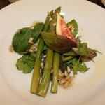 fig and asparagus starter