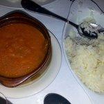 rice and Yuca puree