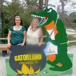 My Daughter & I @ Gatorland