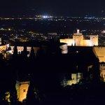 Blick auf die Alhambra aus ungewohnter Perspektive