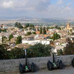 Blick vom Sacromonte auf den Albaycin