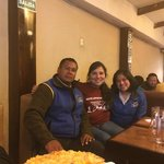 Last dinner with Victoriano and Janet