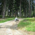 Driving downhill
